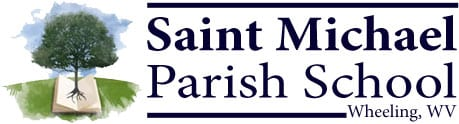St. Michael Parish School Retina Logo